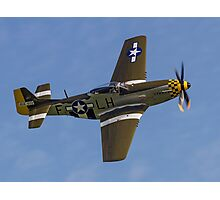 "P-51D Mustang 45-15118 G-MSTG ""Janie"" Photographic Print"