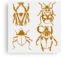 Insect Design Canvas Print