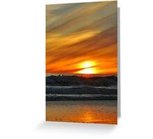 Carpinteria Sunset Greeting Card
