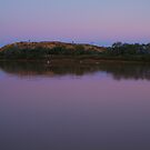 Dusk, Hunters Gorge, Diaminatina River Outback Queensland by Joe Mortelliti