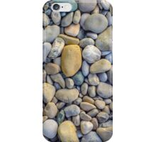Background Of Smooth River Stones iPhone Case/Skin
