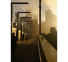 The Streets of Melbourne Photographic Print