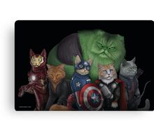 The Catvengers Canvas Print