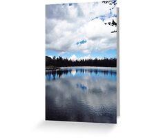 Goodwin Lake Reflections Greeting Card