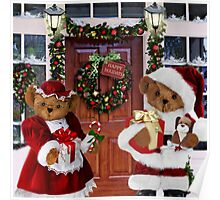 ¨*•♫♪¸¸HAVE YOURSELF A BEARY LITTLE CHRISTMAS - PICTURE, MUGS,TRAVEL MUGS,PILLOW, & TOTE BAG ho HO ho¨*•♫♪¸¸ Poster