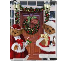 ¨*•♫♪¸¸HAVE YOURSELF A BEARY LITTLE CHRISTMAS - PICTURE, MUGS,TRAVEL MUGS,PILLOW, & TOTE BAG ho HO ho¨*•♫♪¸¸ iPad Case/Skin