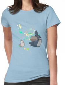 Ink - Totoro Womens Fitted T-Shirt