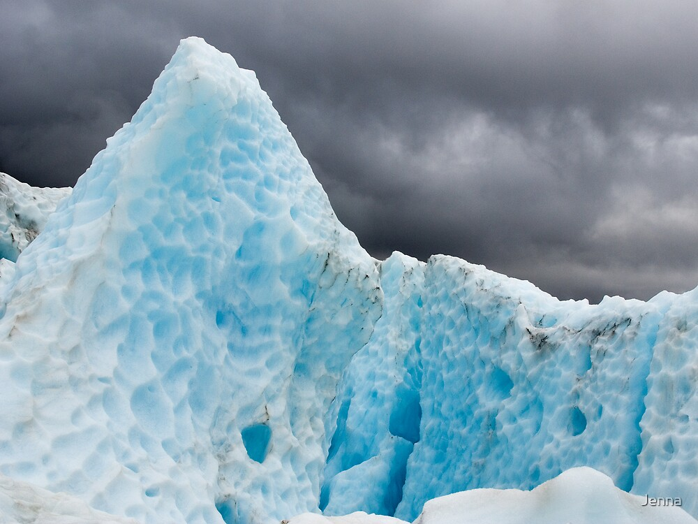 Ice mountain by Jenna