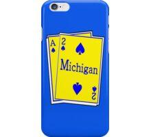 A-SQUARED: ANN ARBOR, MICHIGAN iPhone Case/Skin