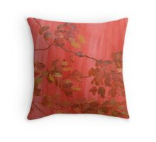 Weeping Maple Throw Pillow