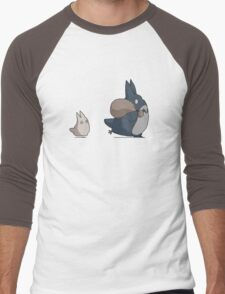 No ink - Totoro Men's Baseball ¾ T-Shirt