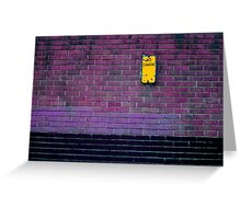 Standing out Greeting Card