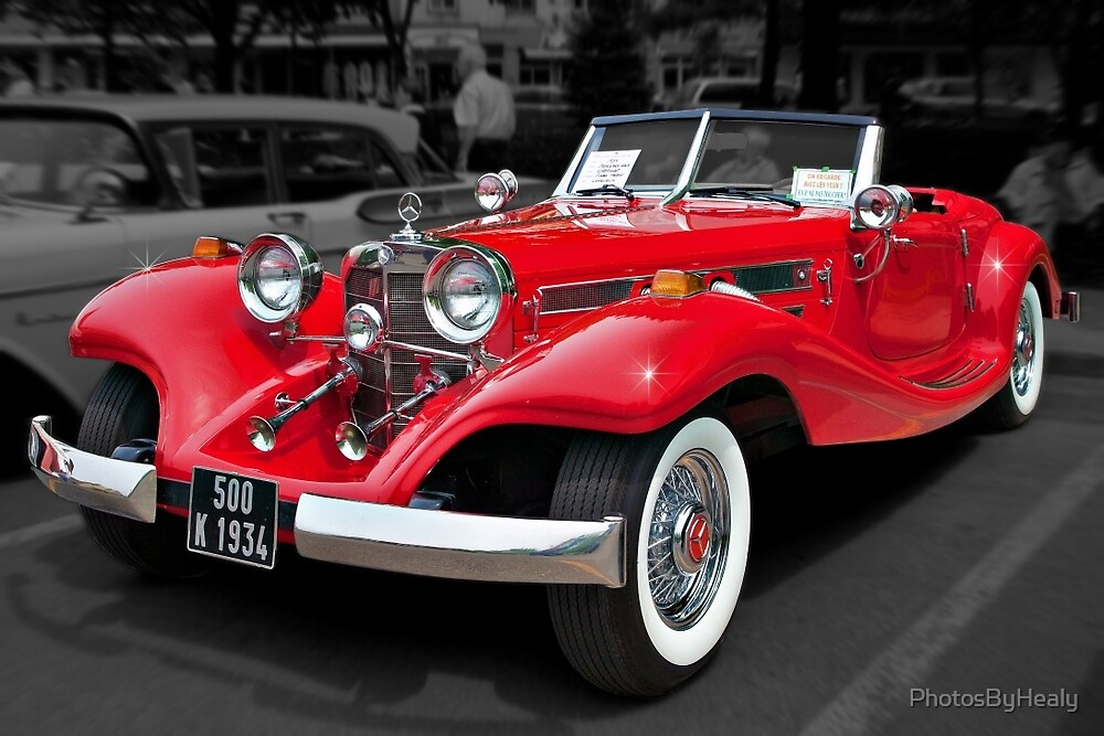 1934 Mercedes 500K Cabriolet by PhotosByHealy