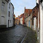 Streets of Brugge. by David Sundstrom