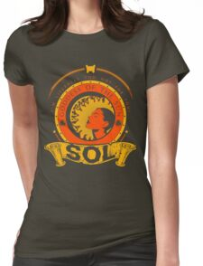 SOL - GODDESS OF THE SUN Womens Fitted T-Shirt