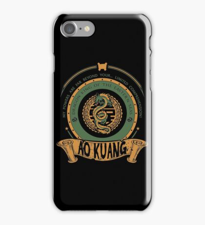AO KUANG - DRAGON KING OF THE EASTERN SEAS iPhone Case/Skin
