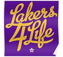 Lakers 4 Life Poster