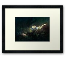 The Exquisite Corpse Framed Print
