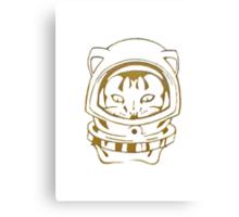 OLD SCHOOL SPACE CAT SMARTPHONE CASE (Graffiti) Canvas Print