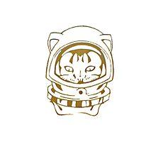 OLD SCHOOL SPACE CAT SMARTPHONE CASE (Graffiti) Photographic Print