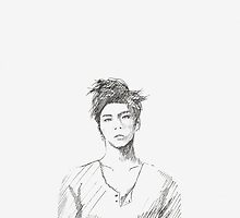 shinee jonghyun by Helen W