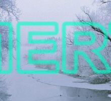 Winter Mert Sticker