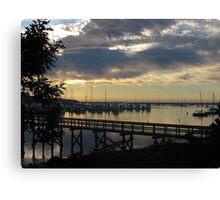 Harbour @ New Castle, New Hampshire Canvas Print