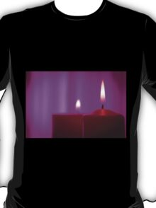 Red candle flame T-Shirt