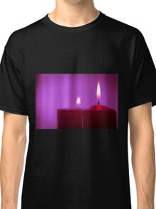Red candle flame Classic T-Shirt