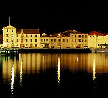 Constitution Dock - Hobart - Tasmania by James Pierce