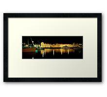 Constitution Dock - Hobart - Tasmania Framed Print