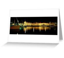Constitution Dock - Hobart - Tasmania Greeting Card