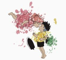 ink - Ponyo&Sasuke One Piece - Short Sleeve