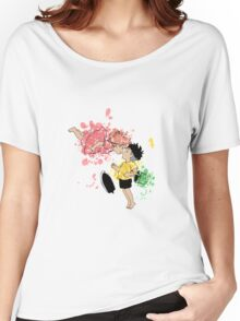 ink - Ponyo&Sasuke Women's Relaxed Fit T-Shirt