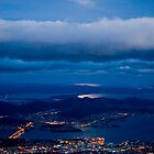 Hobart moonrise by richocam