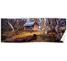 JB Plains Hut - Dinner Plain - Victoria Poster