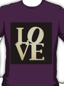 Love Park Philadelphia Sign T-Shirt