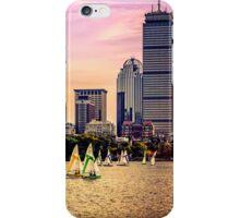 Sails, Boston, MA, USA iPhone Case/Skin