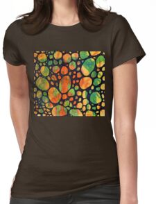 Abstract Color Square 2 Womens Fitted T-Shirt