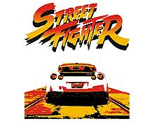 Street Fighter - Nissan gtr Photographic Print