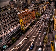 William Street by Alexander Kesselaar