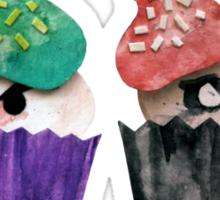 Baked Bad Guys (Joker & Harley) Sticker