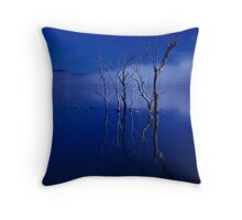 blue water 23 Throw Pillow