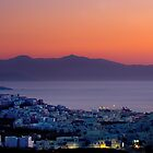 Sunset on Naxos by RedChevy