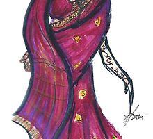 The Wedding Dress by lmhworks
