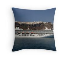 Cruising the Greek Islands Throw Pillow