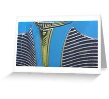 Blue Car Detail  Greeting Card