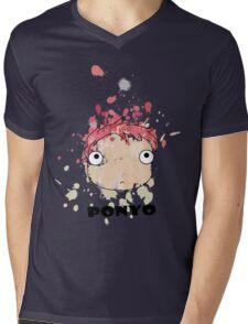 Little Ponyo ink Mens V-Neck T-Shirt