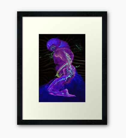 WDV - 489 - Workings Within Framed Print