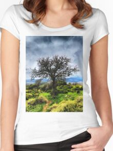 Fruit Tree Women's Fitted Scoop T-Shirt